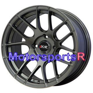 530 Gun Metal Concave Rims Wheels Stance 4x114 3 91 Mazda RX7