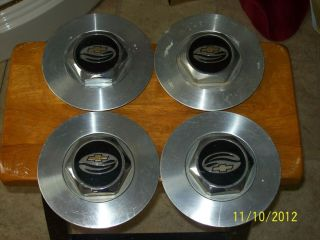 95 96 97 Chevy Impala Wheel Rim Center Caps Set of Four