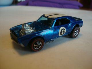 Hot Wheels Redline Heavy Chevy Windex Blue 6 Excellent to C 9