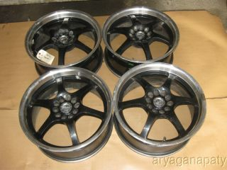 90 91 92 93 94 95 96 Nissan 300zx RACELINE 17 wheels rims black mirror