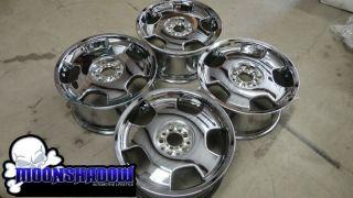 RARE 18 Lorinser D93 Chrome Wheels Rims Cadillac cts DeVille DTS BMW