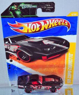 Hot Wheels 69 COPO Corvette 2011 New Models Black