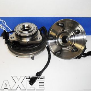 Front Ford Wheel Hub Bearing Assembly 4x4 rwd Pair