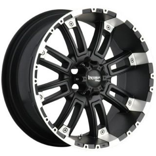 20 Wheels Rims Incubus Alloys Crusher Black Machined Ford Excursion