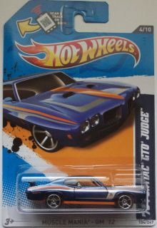 2012 70 Pontiac GTO Judge Col 104 Blue Version