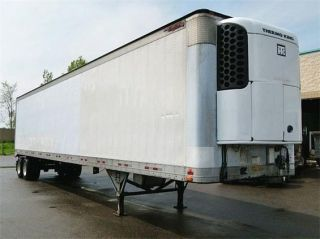 2001 Great Dane 48 x 102 Refrigerated Reefer Trailer Thermo King SB