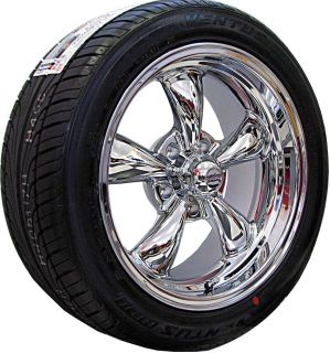 17x7 8 CHROME REV CLASSIC 100 WHEELS RIMS & NEXEN TIRES FORD MUSTANG