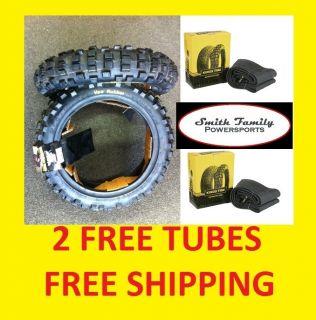 Honda CRF50 Pit Bike Tire Pair with Tubes 2 50 10 CRF 50 XR TTR TTR50