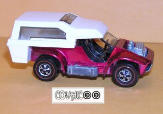 1970 Hot Wheels Redline Power Pad TUF ROSE REAL TOP SHOWS FOR MANY