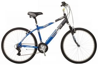 Mongoose Placid Mens Comfort Bike 26 inch Wheels