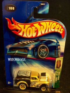 hot wheels 2004 Treasure Hunt Morris Wagon LE BOX SET #108 BLK FAN