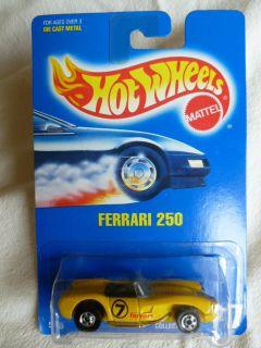 1991 Hot Wheels Ferrari 250 Car Collector 117
