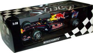 MINICHAMPS 1 18 2010 RED BULL RACING F1 ABU DHABI GP SEBASTIEN VETTEL