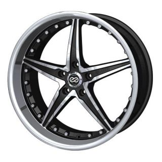20 Enkei LSR Black Rims Wheels 20x8 5 40 5x110