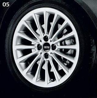 Mini Cooper 17 R108 Silver Multi Spoke Rim Wheel