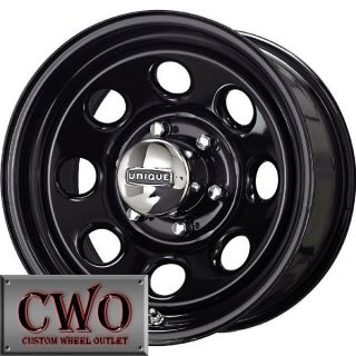 15 Black Unique 297 Wheels Rims 5x114 3 5 Lug Jeep Wrangler Explorer