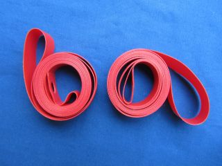 700c Nylon Rim Tape Red Snap on Fit Pair for 2 Rims New High Quality