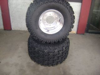 Sedona Bazooka Tires and Wheels 20x11 9 4 115 Yamaha Banshee