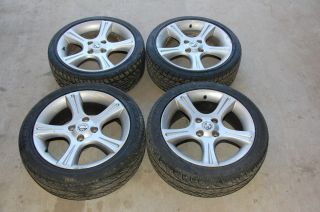 2002 Nissan Sentra SE R Spec V Wheels Rim Set of 4 w Tires