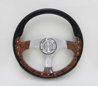 Yamaha Golf Cart Rhino 14 Pursuit Classic Burlwood Steering Wheel Set