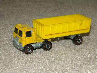 Hotwheels Mountain Mining Road King Truck Redline