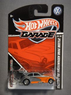 HOT WHEELS GARAGE REAL RIDERS CUSTOM 56 VOLKSWAGEN DRAG BEETLE #6