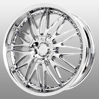 16 inch Verde Regency Chrome Wheels Rims 5x115 cts de Ville DTS DTX El