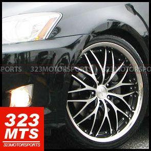 19 Rims Roderick RW1 Wheels Toyota Nissan Honda Acura