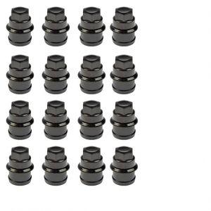 GM Wheel Lug Nut Covers 12472838 New 16 Piece