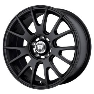 Motegi MR118 Black 18x8 1998 2004 Honda Odyssey 18