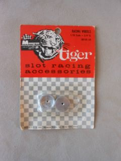 Vintage Monogram Tiger 1964 Slot Car Wheels 1 24 Scale SR1101