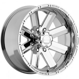18 Wheels Rims Incubus Alloys Recoil Chrome Tahoe Yukon Suburban