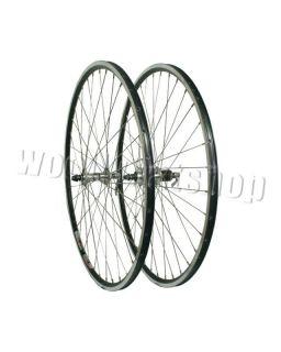 700c Rigida Flyer Black Rims Miche QR Hubs Front Rear Road Race Bike