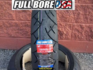 130 90 16 MT90 16 Rear Full Bore USA Touring Motorcycle Tire Free