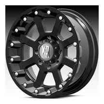 18x10 Black XD Series Strike Rims 8x6 5 Wheels 8 Lug Lifted Truck