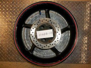 04 05 06 YZF R1 Yamaha Rear Wheel Rim Straight Str8