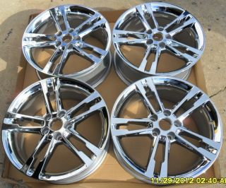 Lincoln MKX MKZ Chrome Wheels Rims 18x8 Factory Wheels