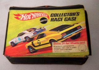 Vintage 1960s Mattel Redline Hot Wheels Lot w Collector Case 24