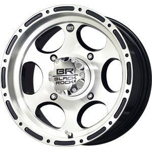 New 12x7 4x137 Black Rock Revo ATV Black Wheels Rims