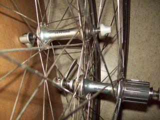 bicycle wheels Mavic Open Pro rims Ultegra 6500 hubs wheelset shimano
