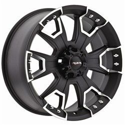 18 inch Ballistic Havoc Black Wheels Rims 5x150 12 Toyota Tundra