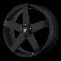 18 Black Rims Tires 5x115 Camry Accord 350Z Nissan Civic Fusion KMC