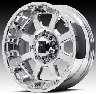 18 inch 18x10 XD Chrome Wheels Rims 6x135 Ford F150 Expedition