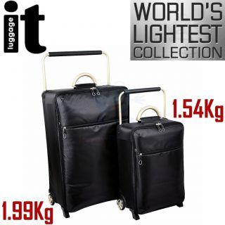Worlds Lightest Trolley Case Suitcase Travel Bag Wheels Set New