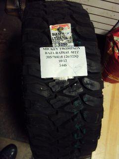 Mickey Thompson Baja Radial MTZ 305 70R18 126 123Q Brand New Tire