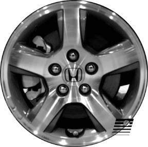 Refinished Honda Pilot 2005 2008 16 inch Wheel Rim OE