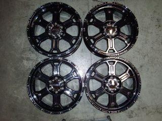 Four 20x9 5 6 139 7 V Tec Raptor Wheels Rims
