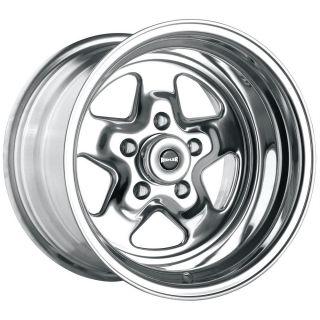 17 inch Ridler 655 Polished Wheels Rims 5x120 65 Firebird Nova