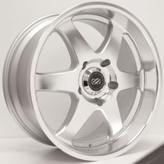 18 Enkei ST6 Rims Wheels Silver Machined 18x8 5 6x139 7 20
