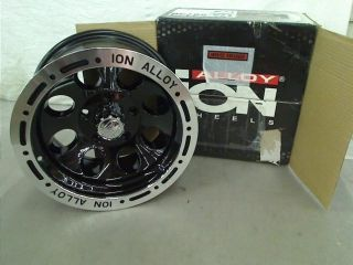 Ion Alloy 174 Black Beadlock Wheel 15x8 5x127mm